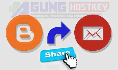 share button email, membuat tombol share email