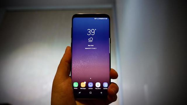 Samsung Galaxy S8 sudah dibekali Super AMOLED