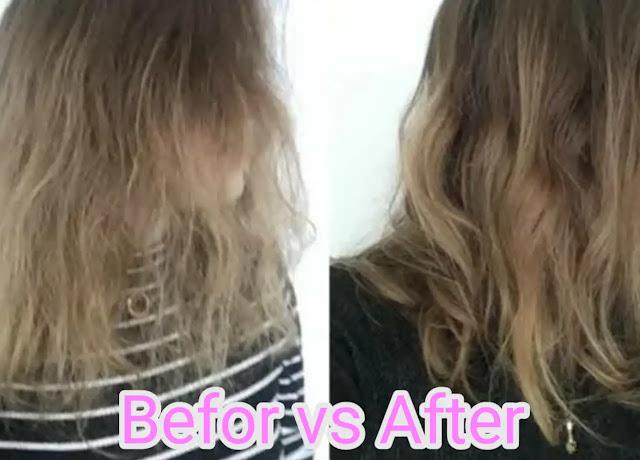 Treating brunt hair