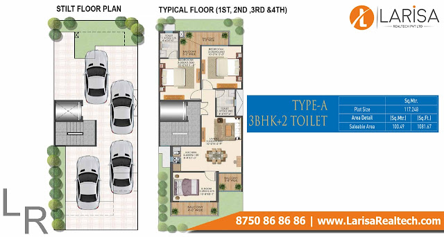 Signature Global Park 4&5  Floor Plan