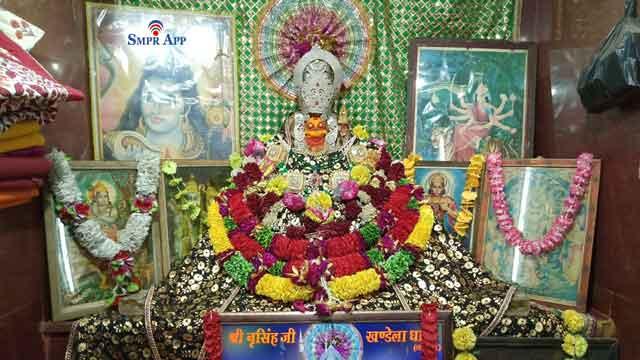 narsingh temple khandela sikar