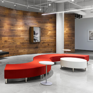 global river modular lounge seating and tables