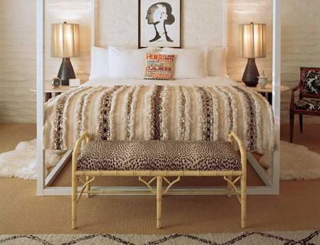 Handira chic marroqu en el dormitorio ministry of deco for Cubrepies de cama