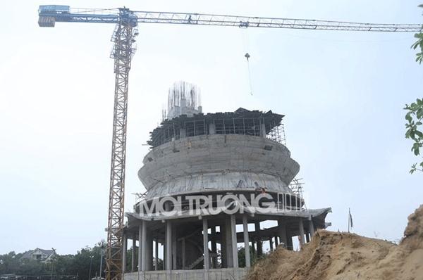 Nghệ An: Ngôi chùa triệu đô xây dựng trái phép bên QL46?