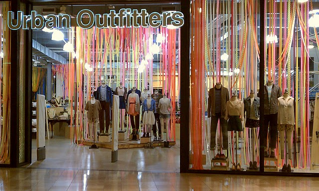 Shannon Leahy Events Urban Outfitters Window Inspiration