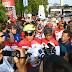 PANGDAM II/SRIWIJAYA LEPAS RIBUAN PESERTA GOWES DALAM RANGKA HUT KE-74 TNI