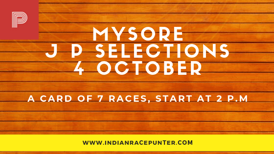 Mysore Jackpot Selections 4 October