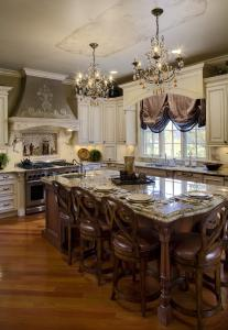 French Colonial Kitchen