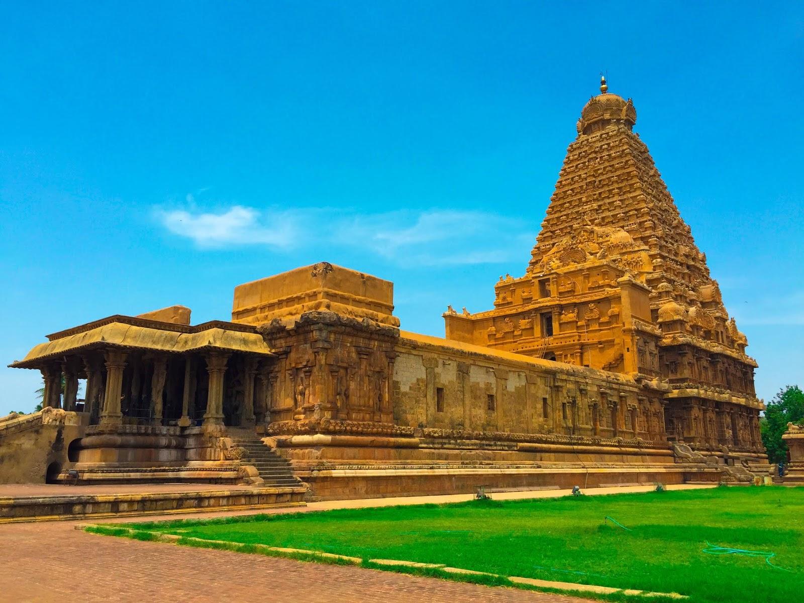 తంజావూర్ బృహదీశ్వర ఆలయం తమిళనాడు పూర్తి వివరాలు Thanjavur Brihadeshwara Temple Tamil Nadu Full Details