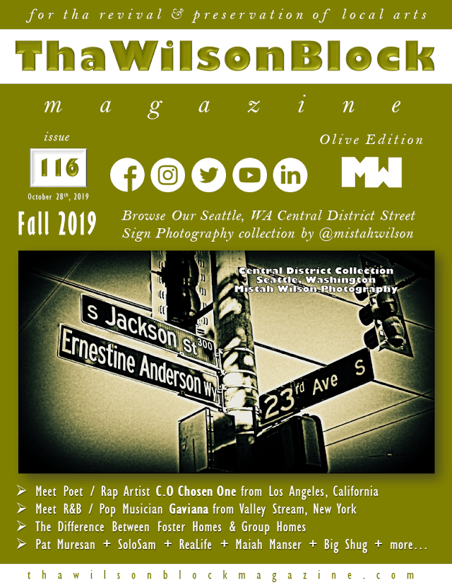ThaWilsonBlock Magazine Issue116 Olive Edition (Fall 2019)