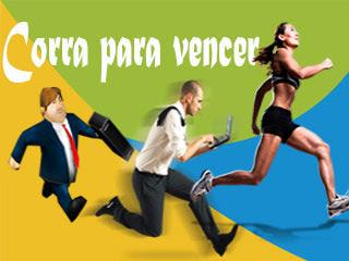 Uma corrida espiritual em aqueles que se preparam são vencedores de uma cora da vida!