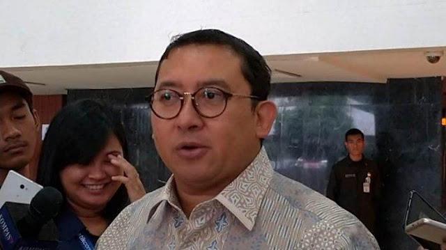 Fadli Zon Sependapat Dengan JK Dalam Persoalan Ini