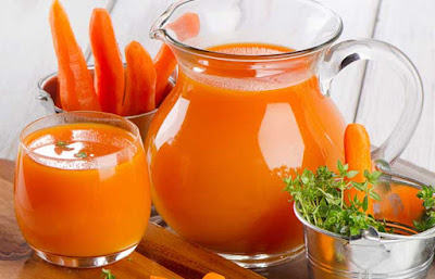 Benefits of carrot juice to the body