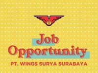 Lowongan Kerja PT Wings Group Indonesia April 2020