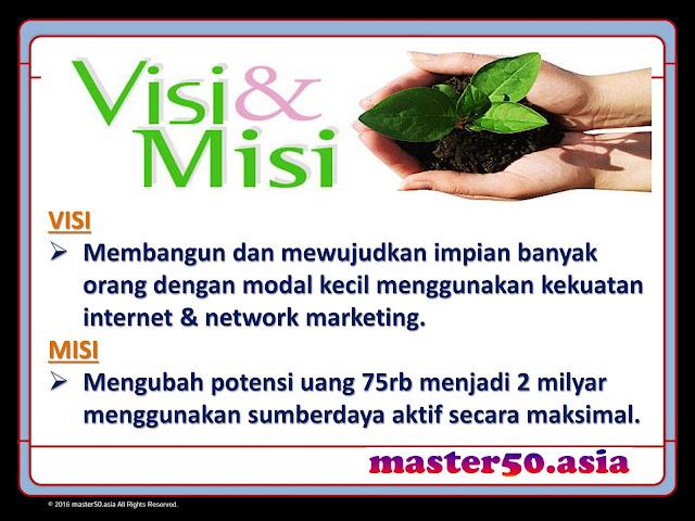 Misi Visi Master 50 Club