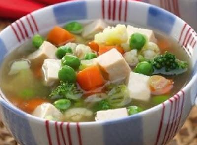 Sup Tahu Brokoli