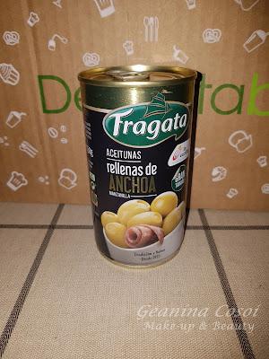 Aceitunas verdes rellenas de anchoa Fragata Caja Degustabox Julio ´16