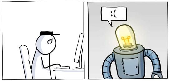 В начале въёбывай ты, чтобы потом въёбывал робот.