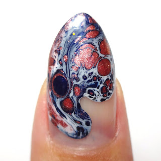 Drip Marble with Spotting Polish