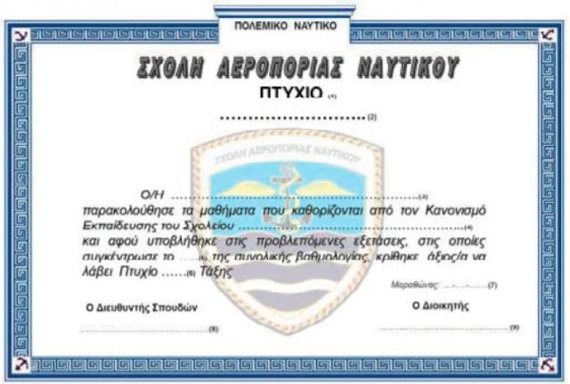 Στο ΦΕΚ η ίδρυση Σχολής Αεροπορίας Ναυτικού (ΣΧ.Α.Ν.)