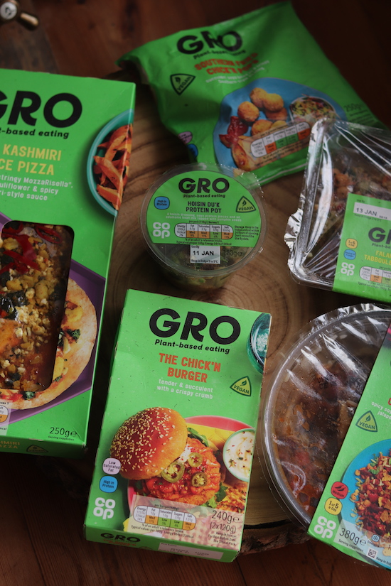 Gro cooperative lunch range