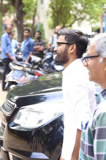 Dhanush at Kodi Press meet Stills