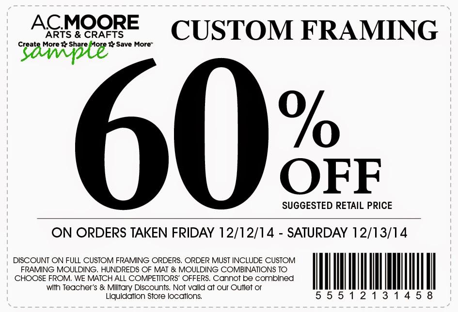 photograph regarding Ac Moore Printable Coupon named Printable coupon codes for ac moore crafts / My coupon genie inc