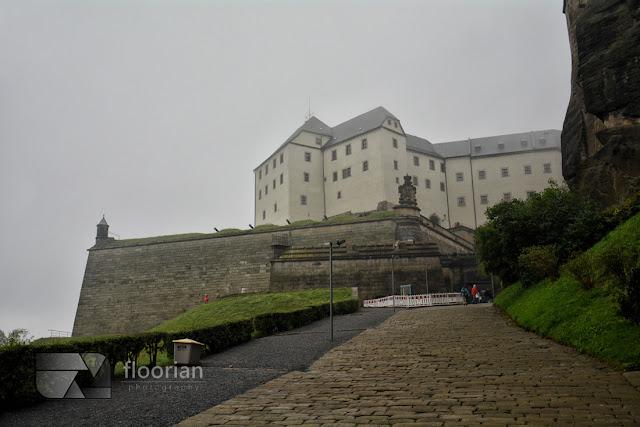 Twierdza Königstein atrakcje turystyczne Saksonii