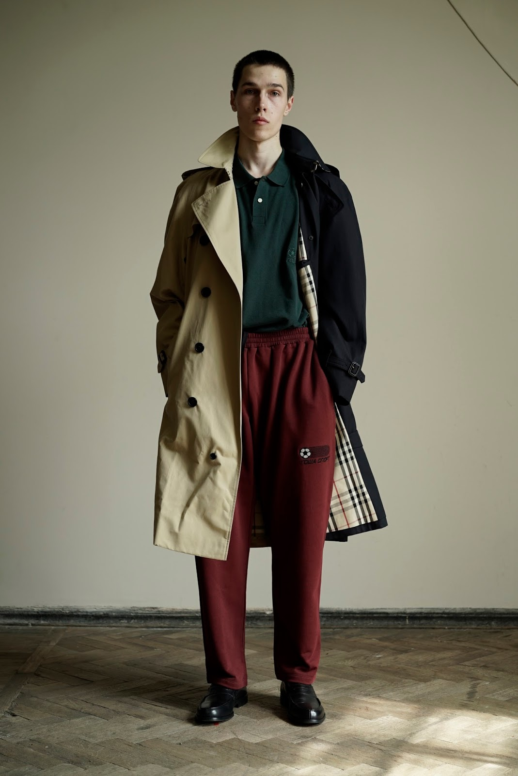 Burberry Collaborates With Russian Designer Gosha Rubchinskiy