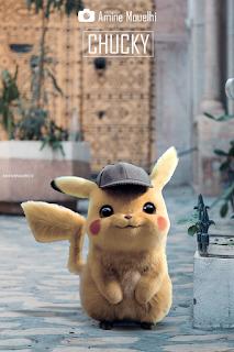 Detective Pikachu somewhere in Medina