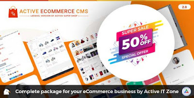Active eCommerce CMS