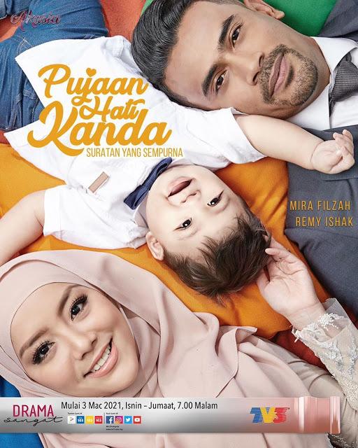 Info Dan Sinopsis Drama Pujaan Hati Kanda Di TV3 (Slot Akasia) Tahun 2021