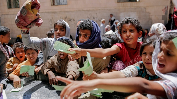 PBB: Terparah di Dunia, 12 Juta Penduduk Yaman Kelaparan