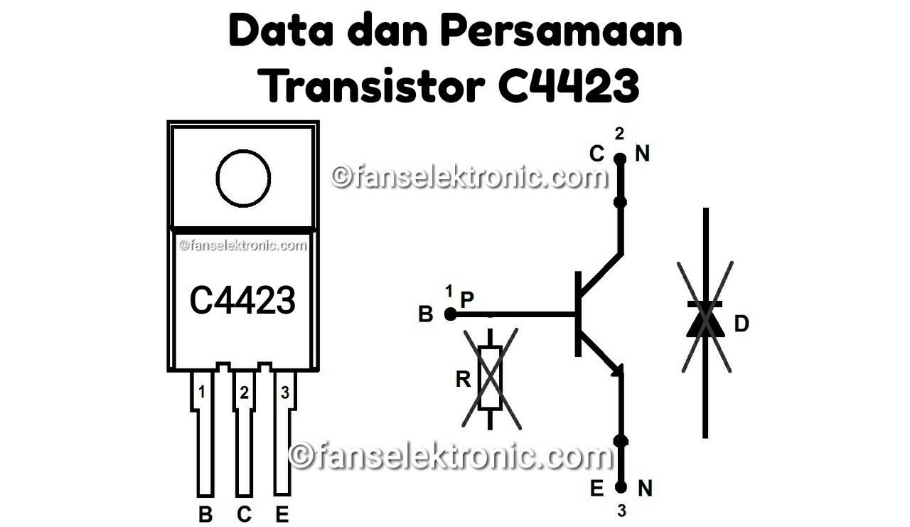 Persamaan Transistor C4423