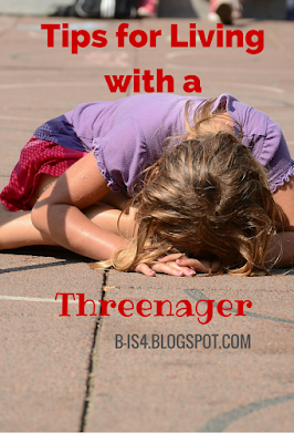 Tips for Living with a Threenager