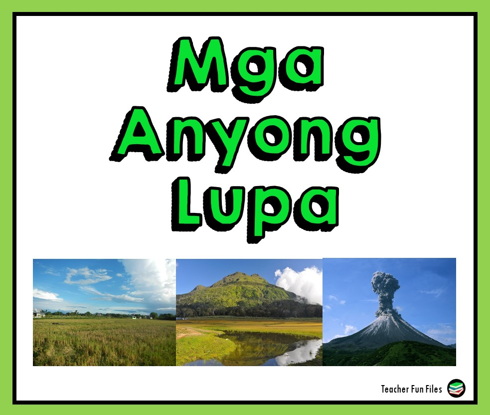 Teacher Fun Files: Anyong Lupa Flashcards [ 832 x 983 Pixel ]