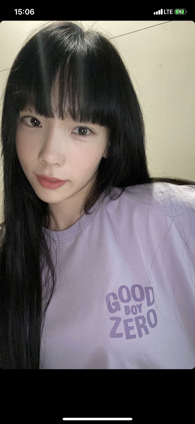 Girls Generation Taeyeon showed off her cute bangs and visual in her Instagram Story and Knetz in love with it!