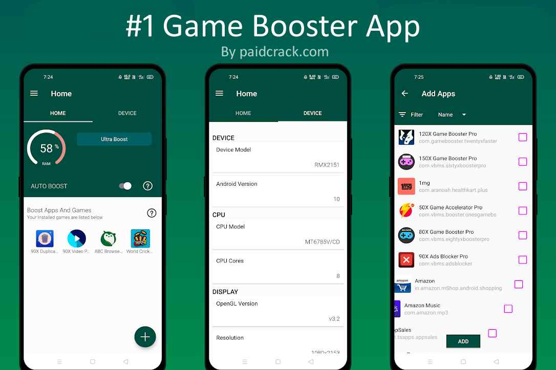 50X Game Accelerator Pro paid apk