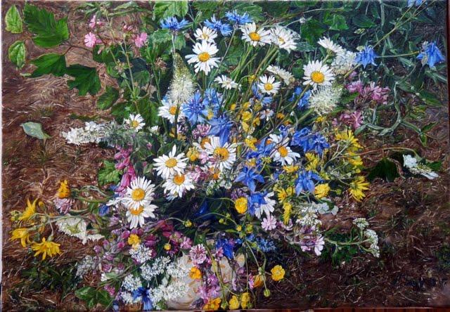 Populaire Bouquet de fleurs des bois et des champs pour fêter l'été  TP13