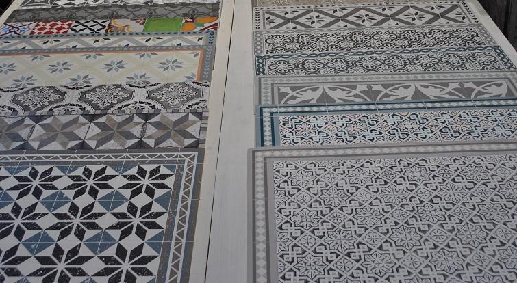 Outdoorteppich Bodenmatten in modernem Design