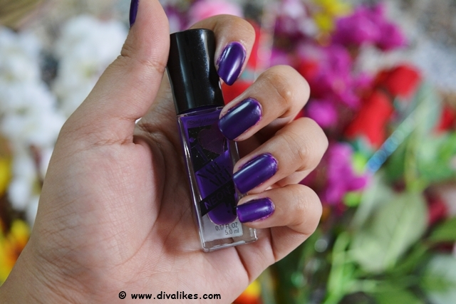 Sally Hansen I Heart Nail Art Neon Nail Color Vibrant Violet Review