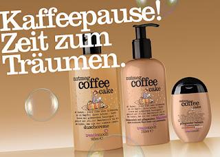 Preview: Treaclemoon - Nutmeg coffee cake - www.annitschkasblog.de