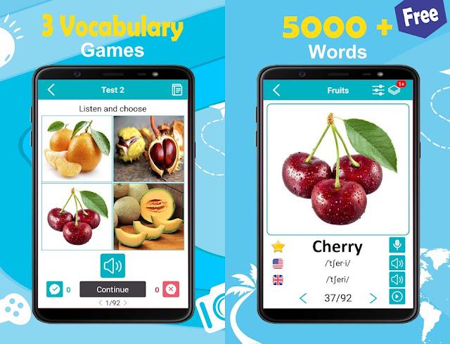 تطبيق مميز لزيادة رصيدك اللغوي في اللغة الانجليزية