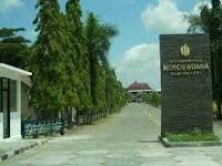 PENERIMAAN CALON MAHASISWA  (MERCU BUANA) 2021-2022
