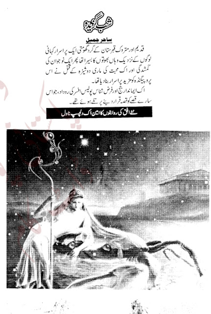 Shab gazeeda novel by Sahir Jameel