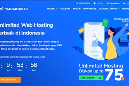 Review NiagaHoster – Salah Satu Layanan Hosting yang Paling Banyak Di Minati Di Indonesia