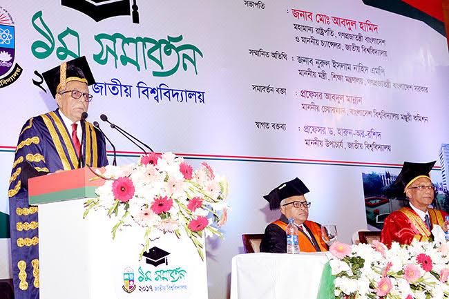 National University 1st Convocation