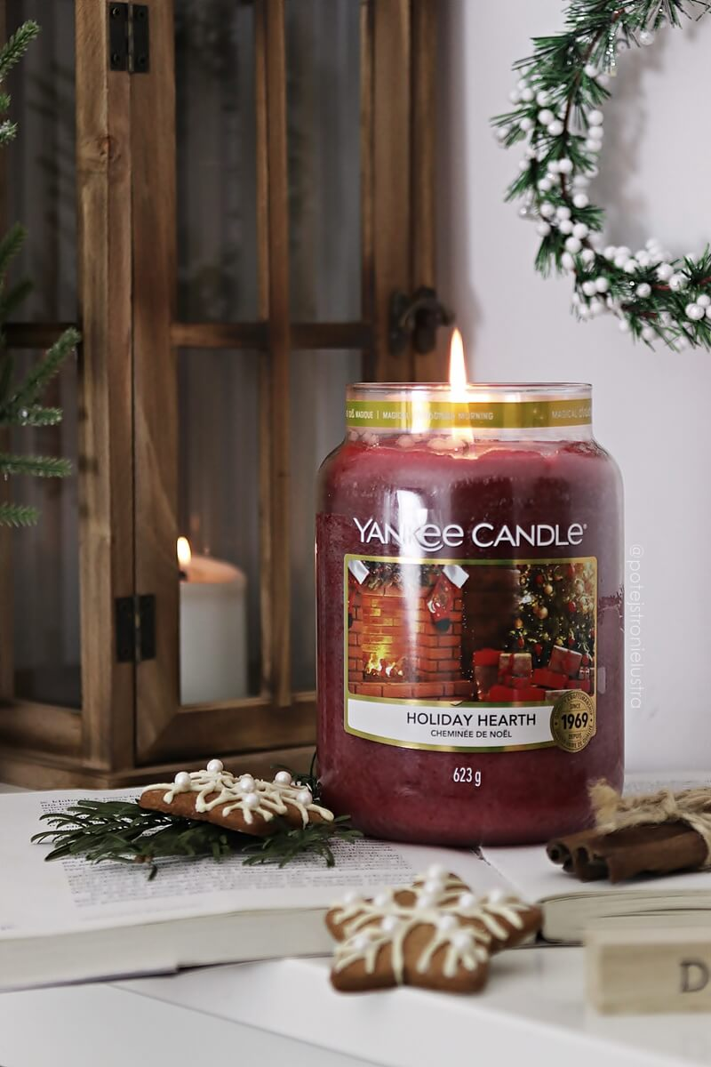 świeca yankee candle holiday hearth święta 2020