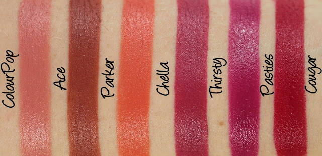 ColourPop Sundays in Silverlake Lippie Stix Set Swatches & Review