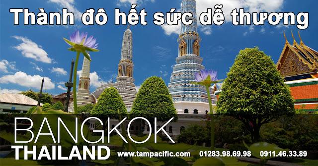 Bangkok thành đô hết sức dễ thương